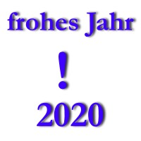 frohes und gesundes Jahr 2020