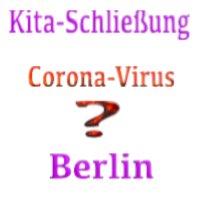 Schließung von Schulen und Kindertagesstätten in Berlin - zu Hause bleiben?